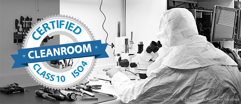 Data Recovery Clean Room